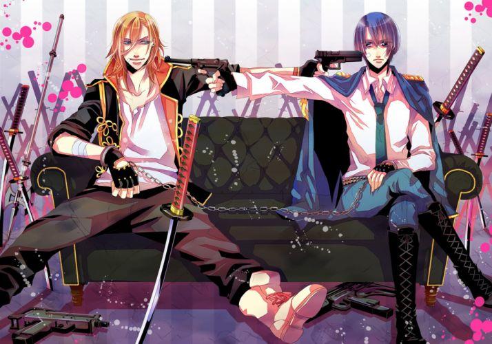 Uta no prince-sama Ren and Masato wallpaper