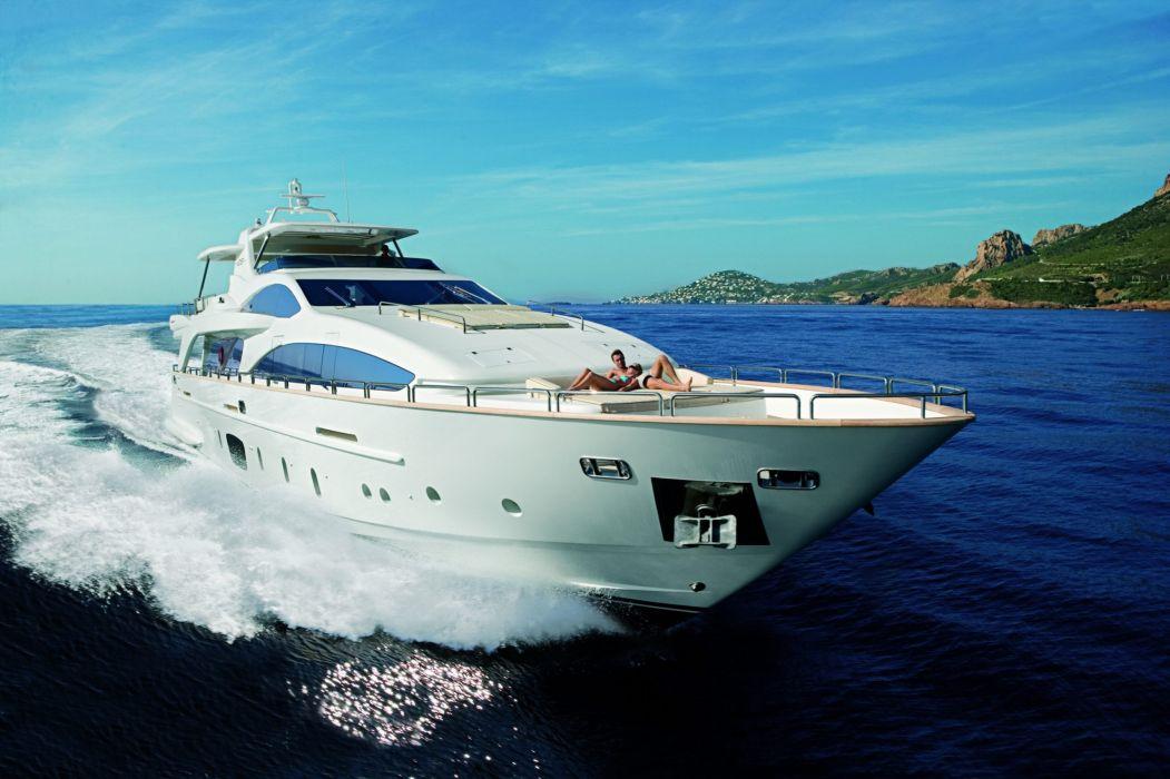 yate barco mar wallpaper