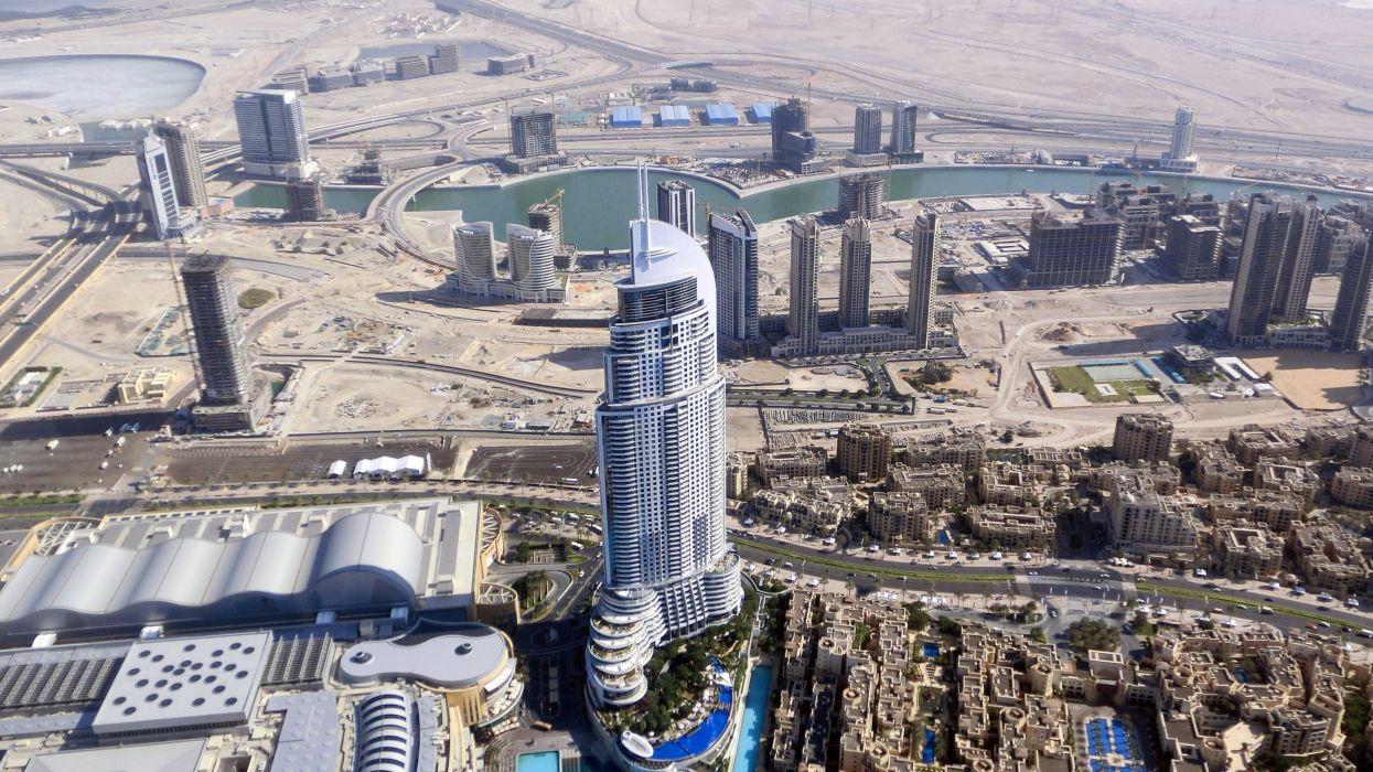 Dubai Skyscrapers Hotel Burj Khalifa wallpaper