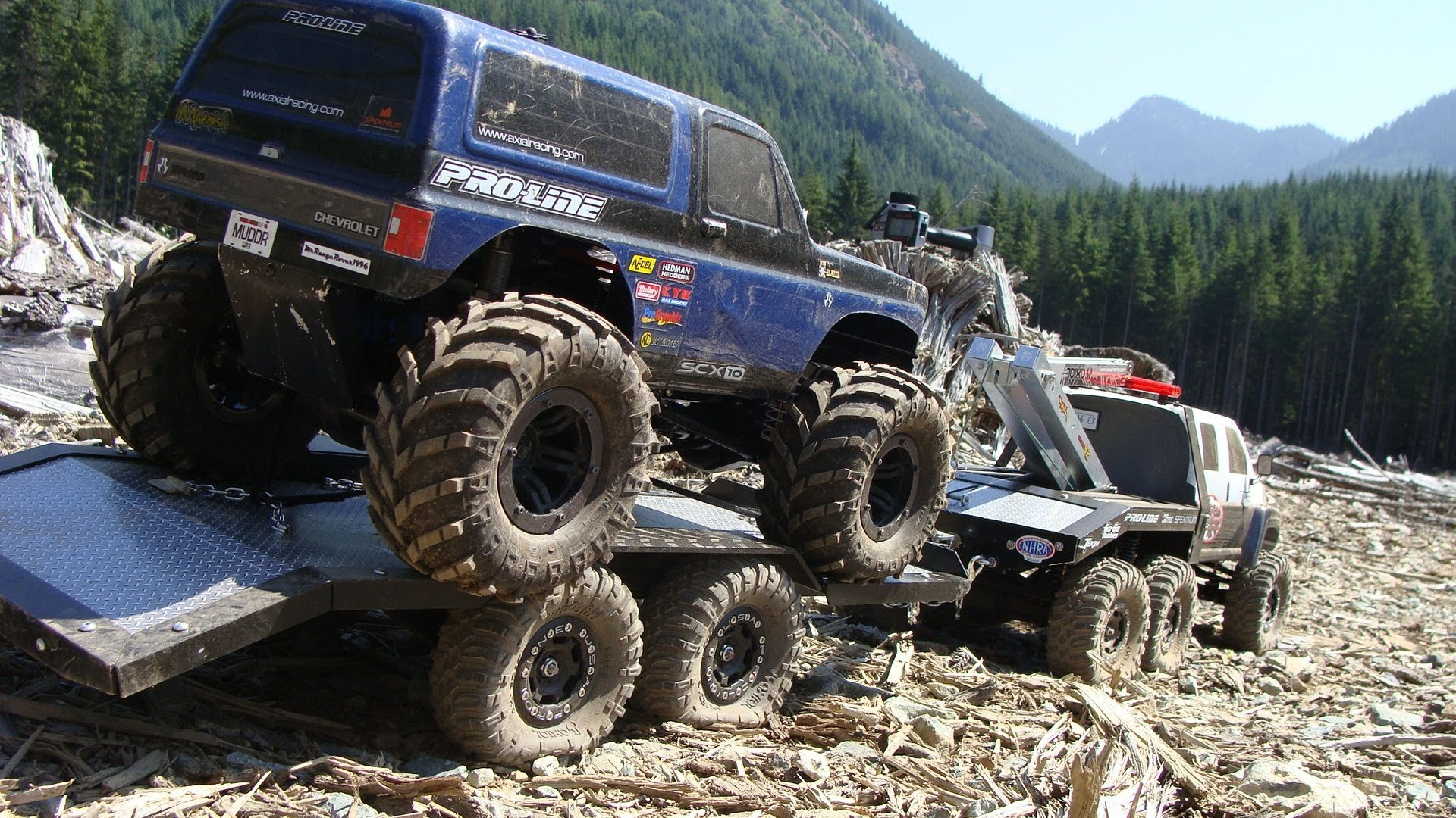 rc off road trucks 4x4 with 4x4 Offroad Truck Custom on Watch in addition Vtr03014 besides Watch likewise Traxxas Telluride 4x4 Extreme Terrain Trail Rig in addition Traxxas Goes Retro Bigfoot 1.