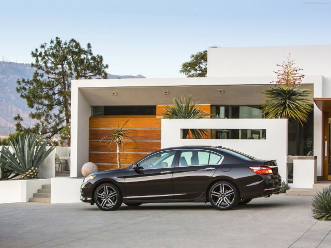 Honda Accord cars sedan 2016 v6-touring wallpaper