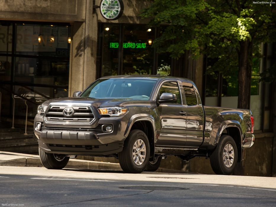 Toyota Tacoma cqrs truck pickup 4x4 v 6 acces wallpaper