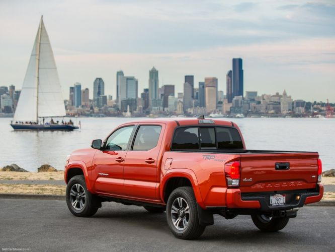 Toyota Tacoma cqrs truck pickup 4x4 v 6 trd sport wallpaper