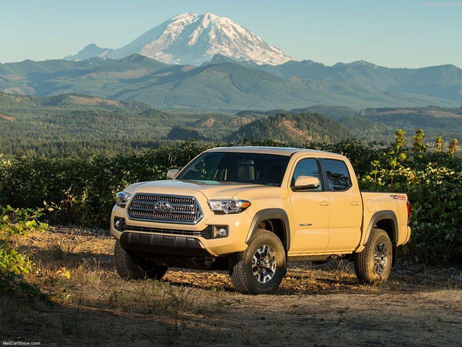 Toyota Tacoma cars truck pickup 4x4 v 6 trd sport wallpaper