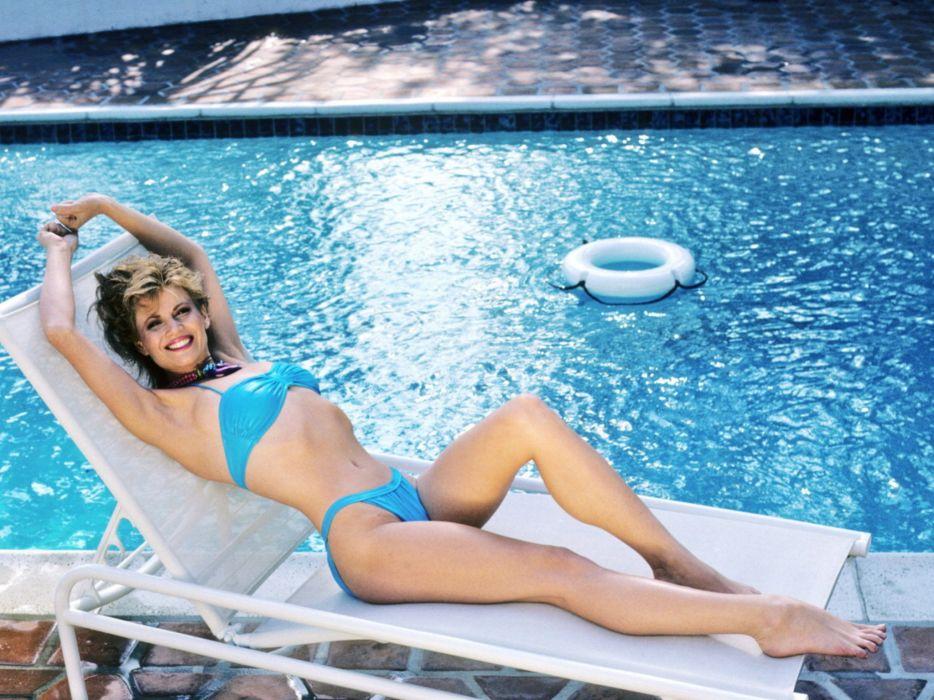 MARKIE POST actress blonde markiepost woman women female sexy babe model wallpaper