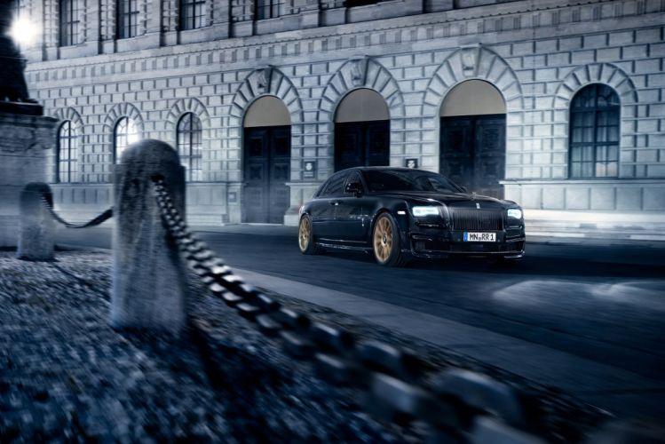 Rolls-Royce SPOFEC Black One cars modified black wallpaper