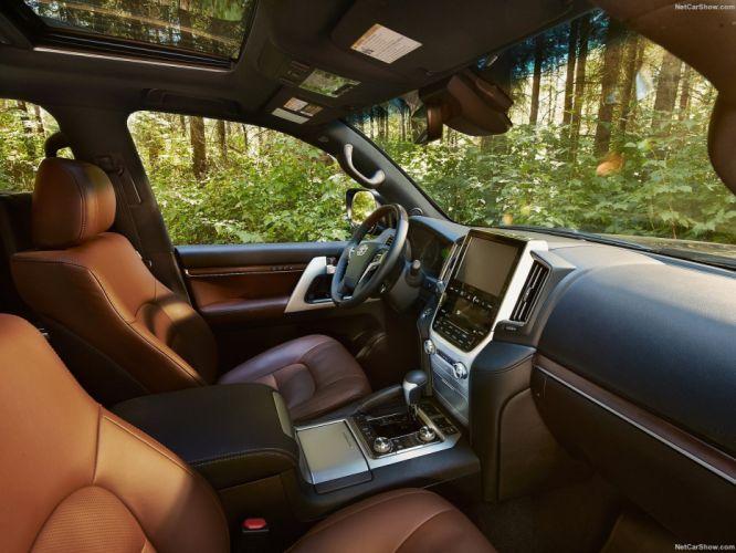Toyota Land Cruiser cars 4x4 2016 wallpaper