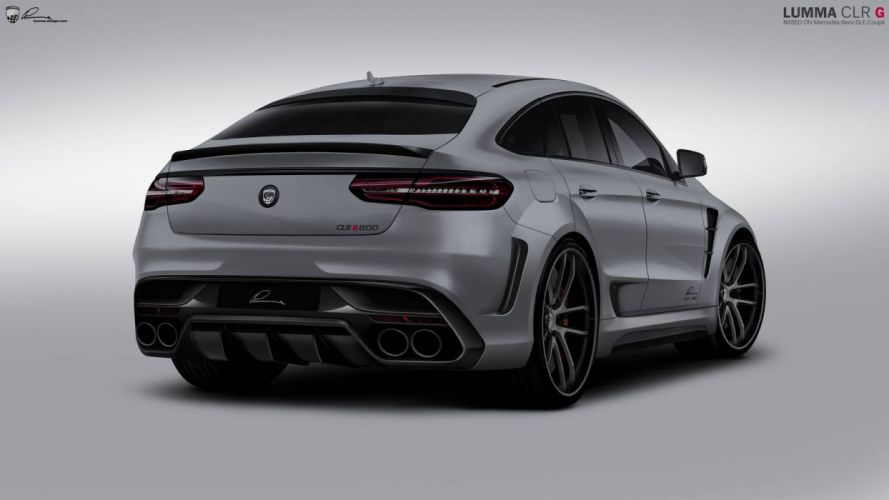 Mercedes-AMG GLE-63 Coupe Lumma Design cars suv modified wallpaper