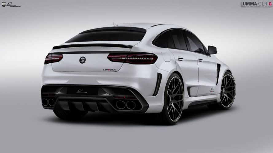 Mercedes-AMG GLE-63 Coupe Lumma Design cars suv modified wallpaper