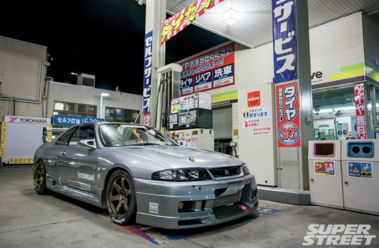 R33 Nissan Skyline coupe cars modified wallpaper