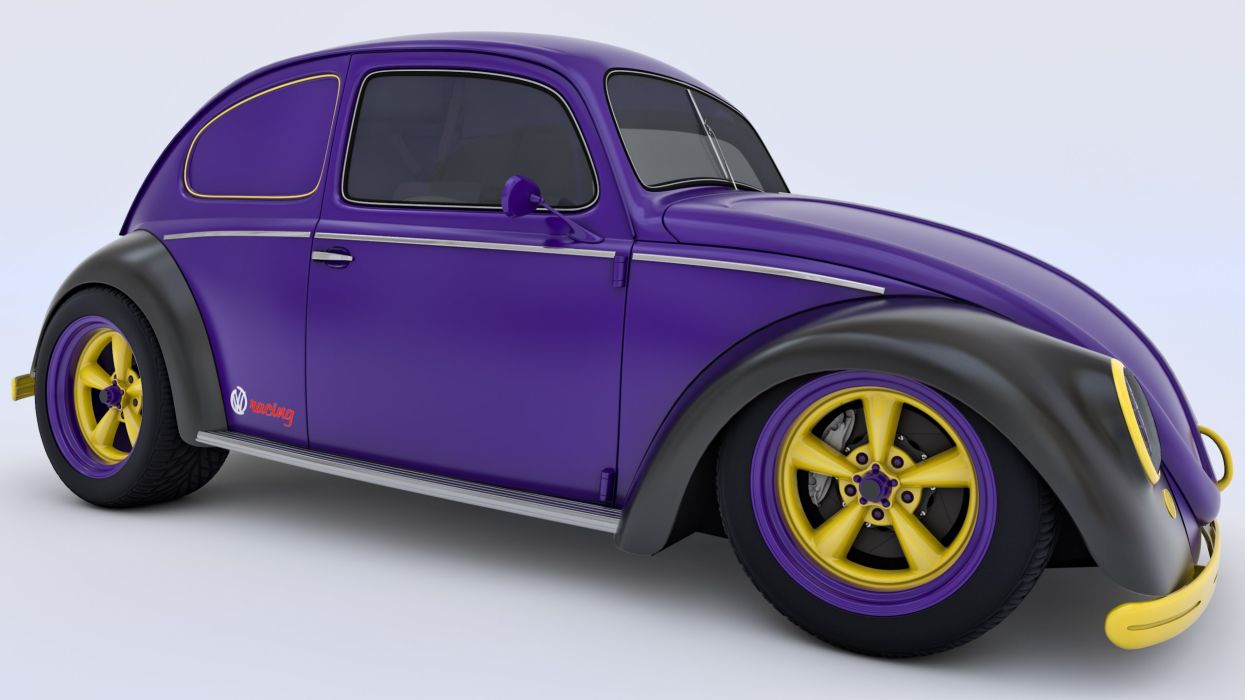 VOLKSWAGON BEETLE bug custom hot rod rods tuning wallpaper
