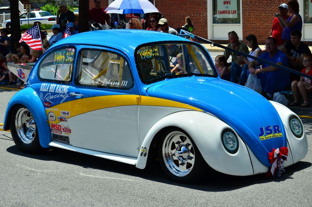 VOLKSWAGON BEETLE bug custom hot rod rods drag race racing wallpaper