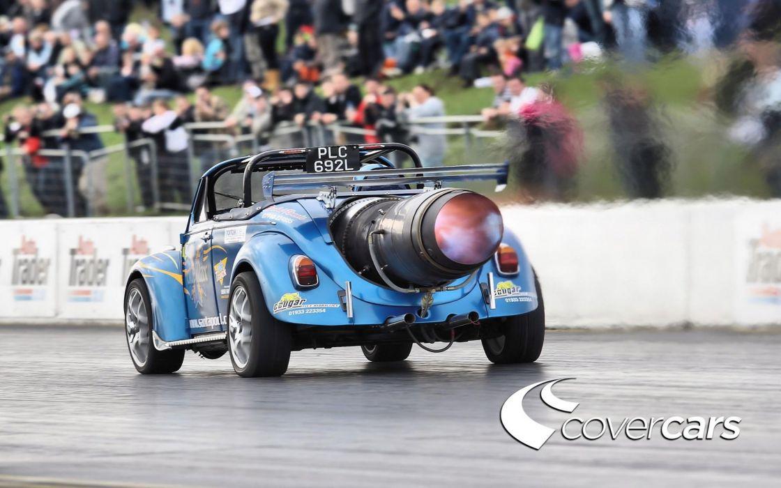 VOLKSWAGON BEETLE bug custom jet tuning drag race racing hot rod rods wallpaper