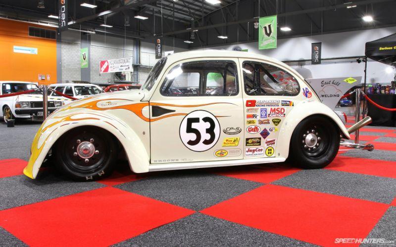 VOLKSWAGON BEETLE bug custom lowrider socal tuning herbie race racing wallpaper