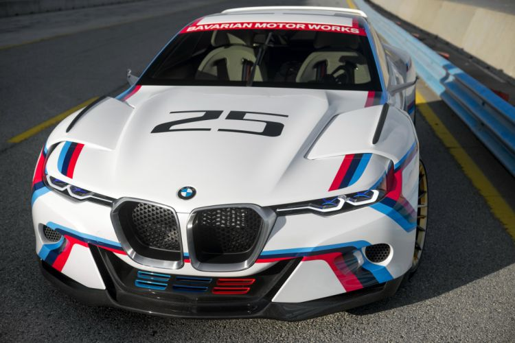 2015 BMW 3-0 CSL Hommage R tuning concept race racing wallpaper