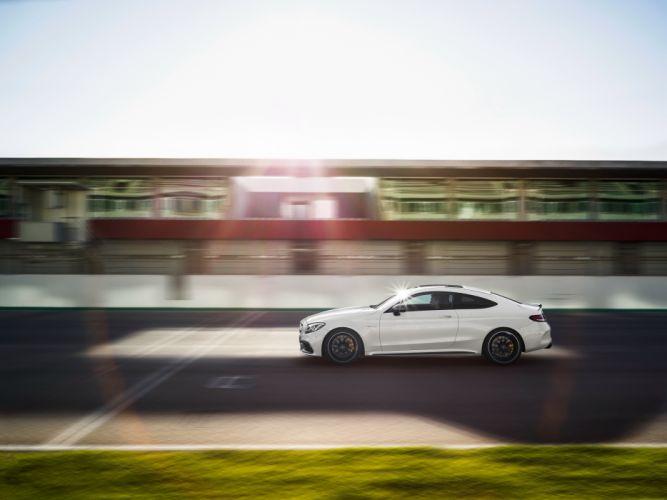 2015 Mercedes AMG C63 S Coupe C205 benz luxury wallpaper