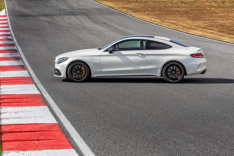 2015 Mercedes AMG C63 S Coupe C205 benz luxury wallpaper