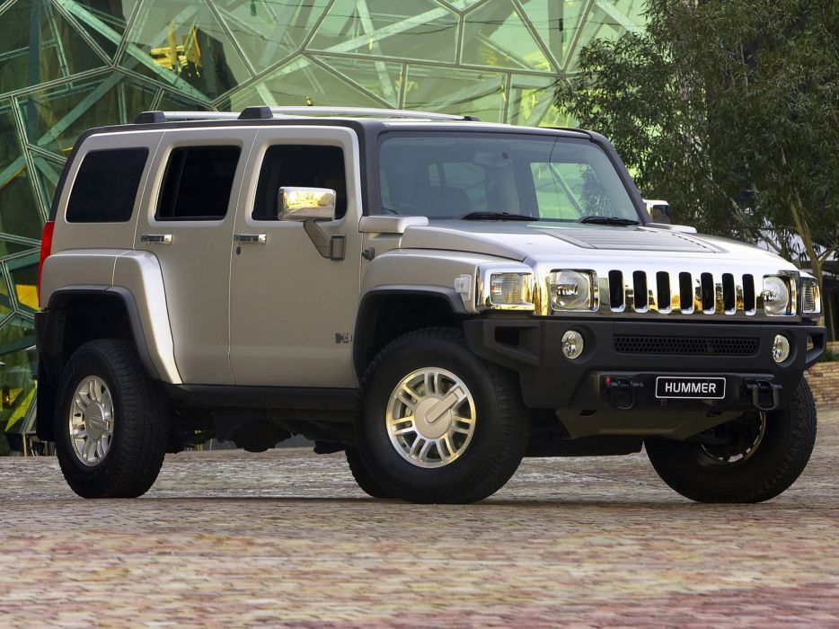 2007-10 Hummer H-3 Adventure suv 4x4 offroad wallpaper