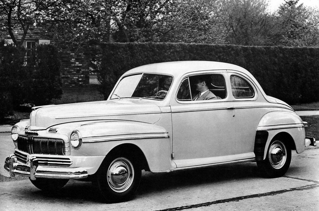 1946 Mercury Eight Sedan Coupe retro wallpaper