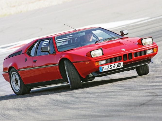 1978-81 BMW M-1 E26 Italdesign supercar wallpaper