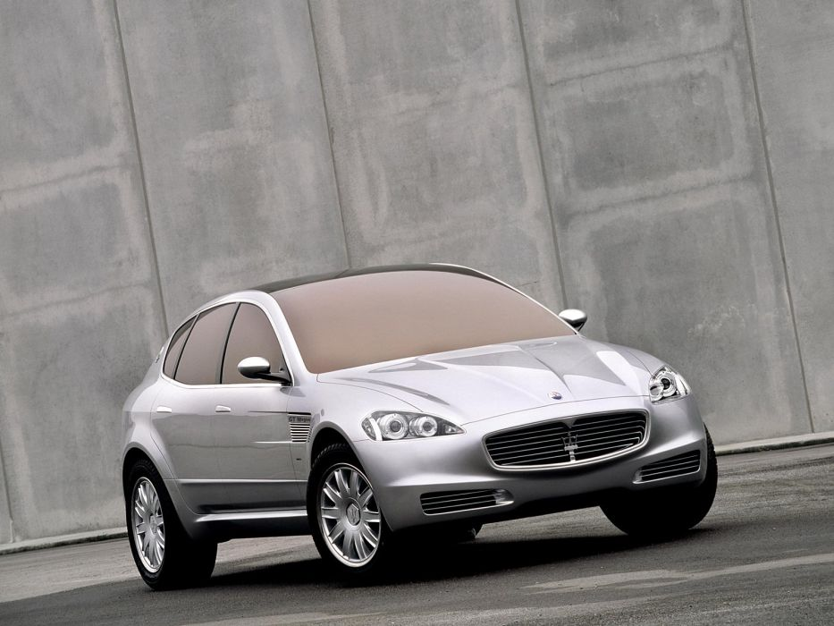 2003 Maserati Kubang G-T Wagon Concept stationwagon wallpaper