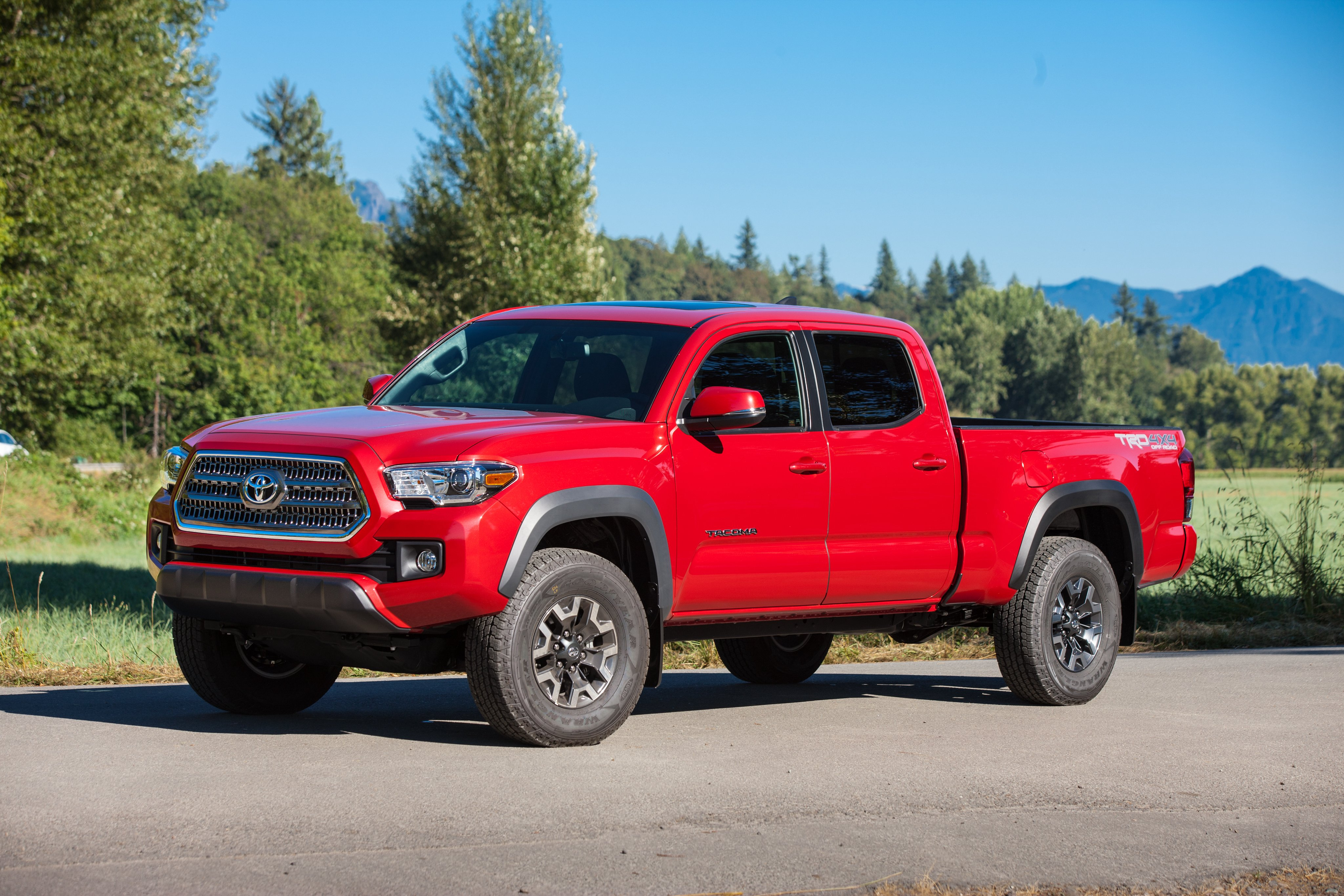 2016 toyota tacoma trd offroad double cab pickup 4x4 wallpaper 4096x2731 782580 wallpaperup. Black Bedroom Furniture Sets. Home Design Ideas