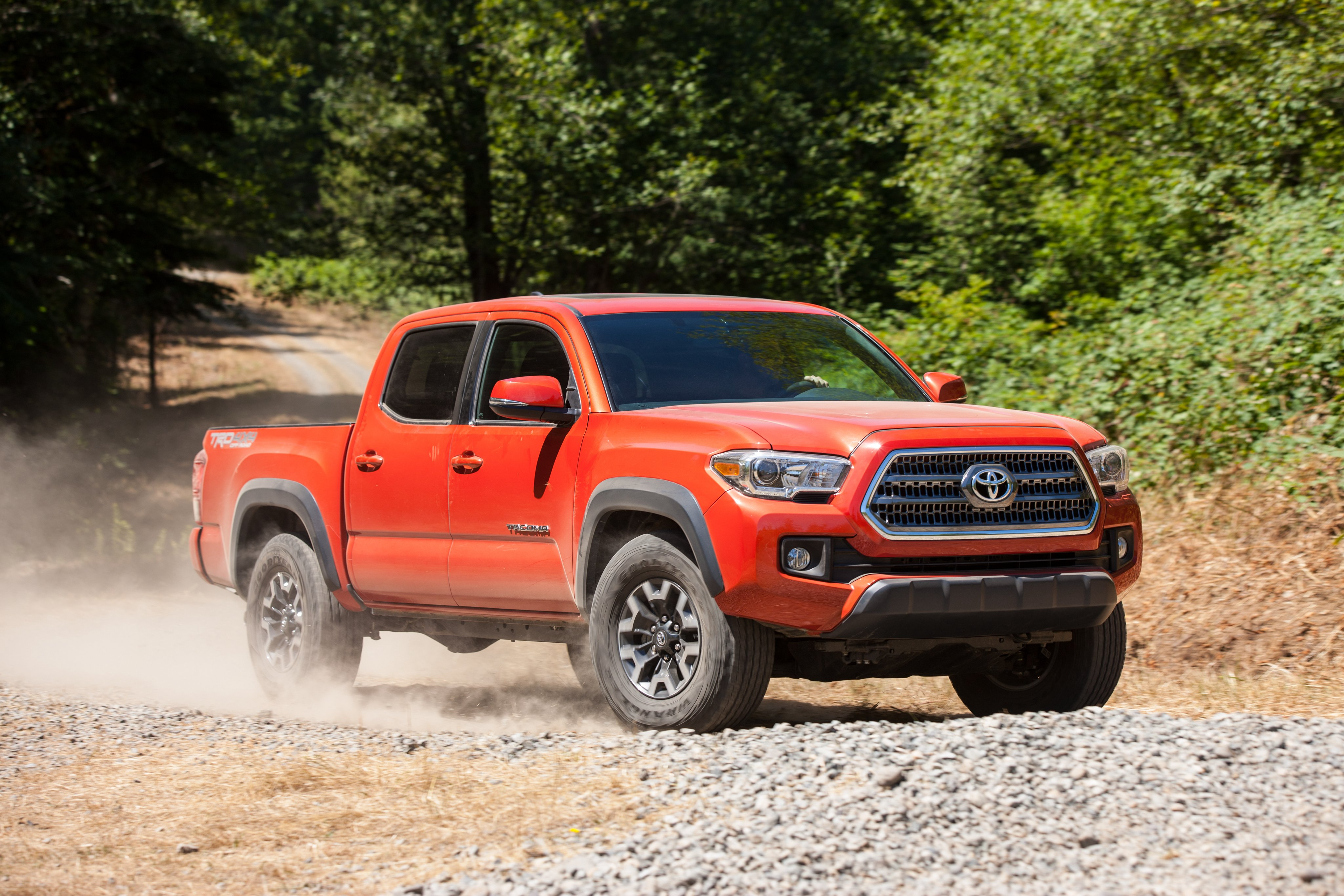 Toyota tacoma trd offroad double cab pickup