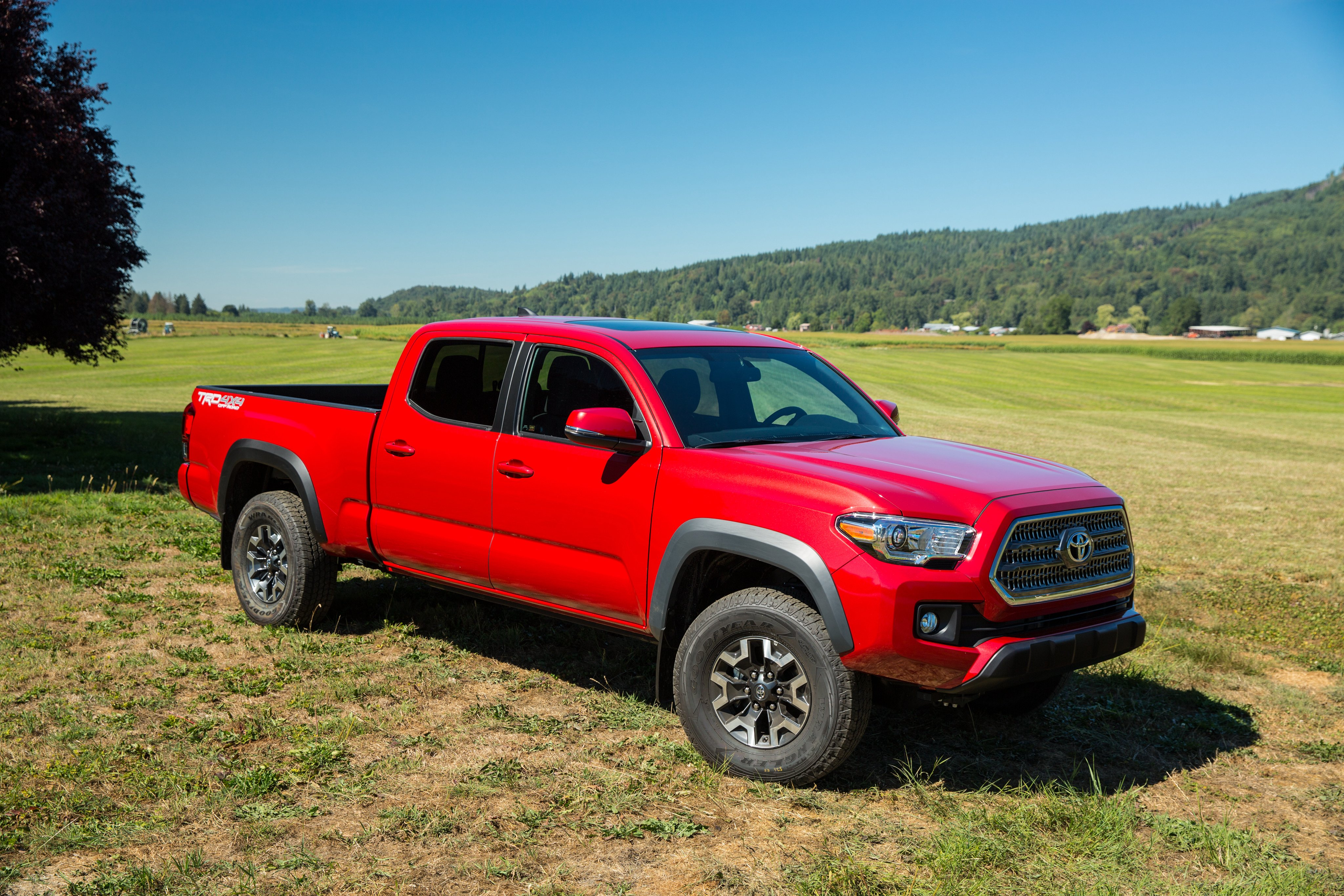 2016 toyota tacoma trd offroad double cab pickup 4x4 wallpaper 4096x2731 782590 wallpaperup. Black Bedroom Furniture Sets. Home Design Ideas