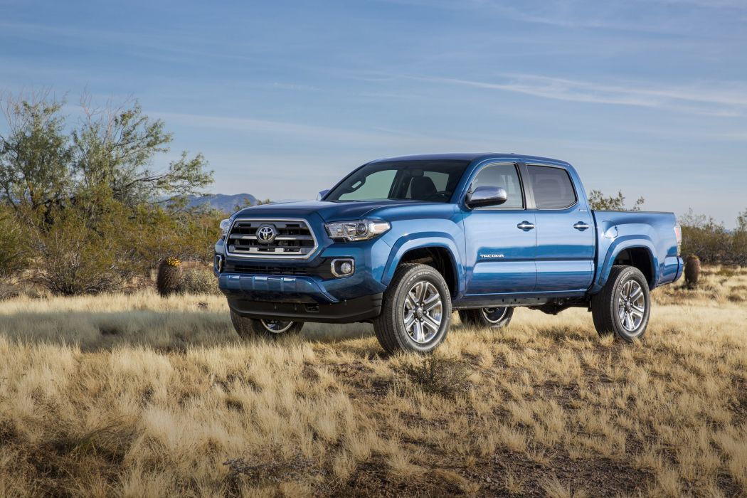 2016 Toyota Tacoma Limited DoubleCab pickup 4x4 wallpaper