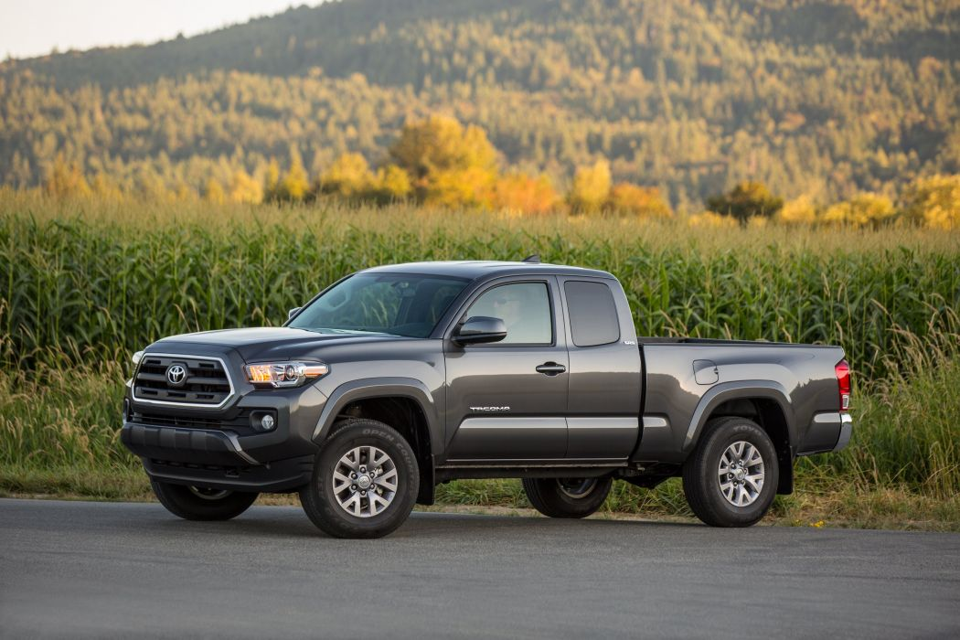 2016 Toyota Tacoma SR5 Access Cab 4x4 pickup wallpaper