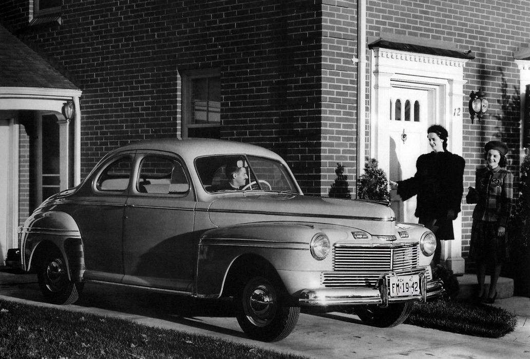 1942 Mercury Eight Business Coupe 29A-77 retro wallpaper