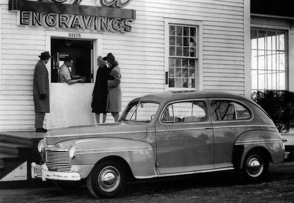 1942 Mercury Eight Tudor Sedan 29A-70 retro wallpaper
