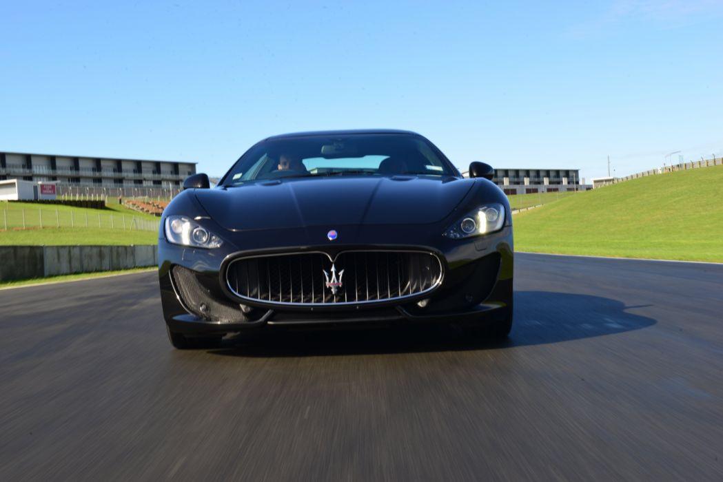 2015 Maserati GranTurismo MC Sportline Pininfarina supercar wallpaper