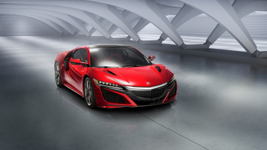 2016 Acura NSX supercar wallpaper