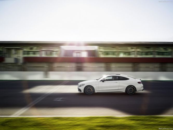 Mercedes-Benz C63-s AMG Coupe cars 2016 wallpaper