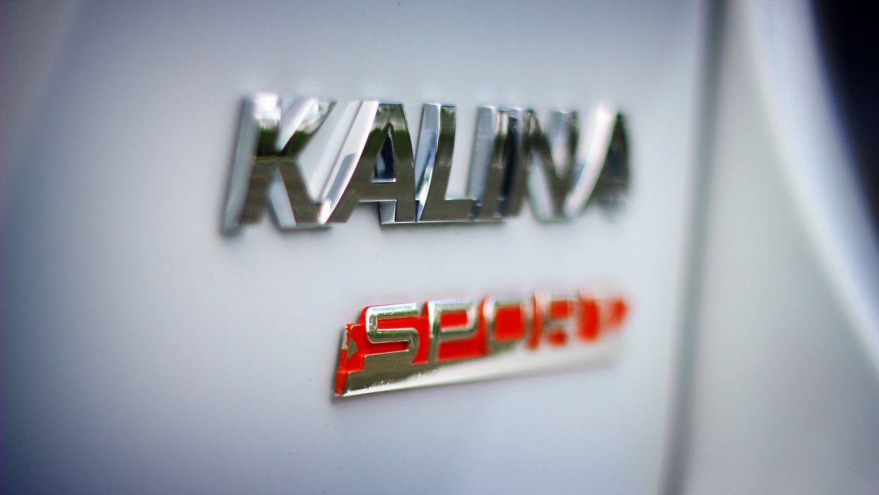 2014 Lada Kalina Sport 2192 race racing wallpaper
