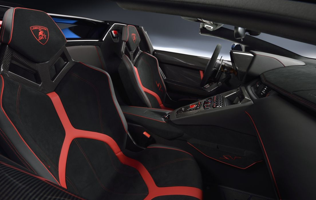 2016 Lamborghini Aventador LP750-4 Superveloce Roadster supercar wallpaper