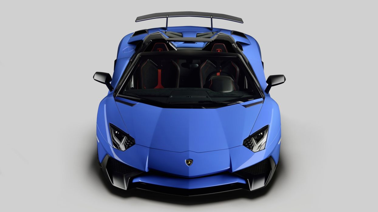 2016 Lamborghini Aventador LP750-4 Superveloce Roadster supercar wallpaper