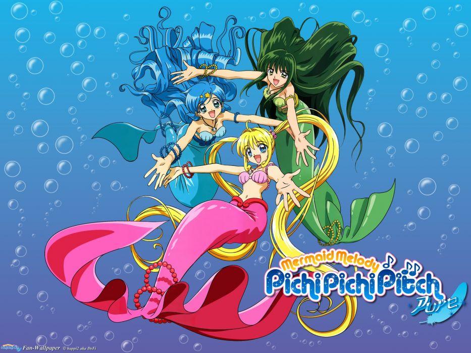 Kết quả hình ảnh cho Mermaid Melody: Pichi Pichi Pitch