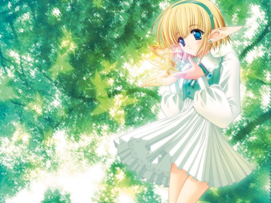 Mermaid melody Pichi pichi pitch Rina Green wallpaper