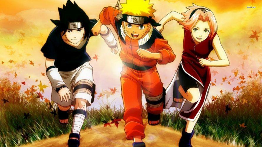 Naruto Sasuke and Sakura wallpaper