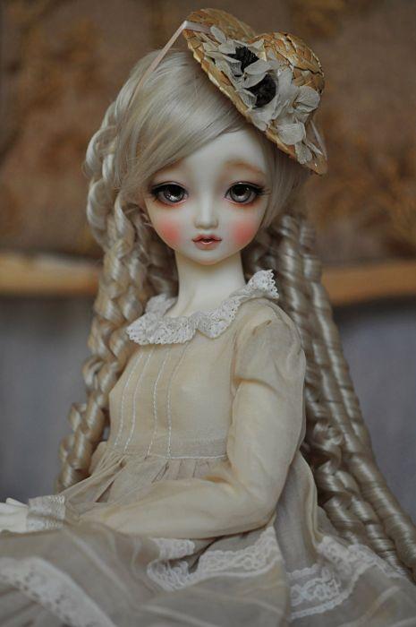 toys doll baby long hair girl beautiful blonde cute dress wallpaper