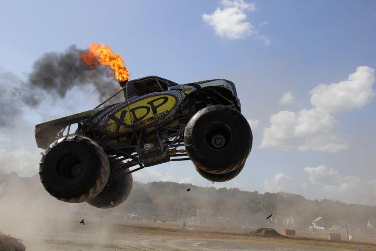 MONSTER-TRUCK monster truck 4x4 offroad custom hot rod rods race racing wallpaper