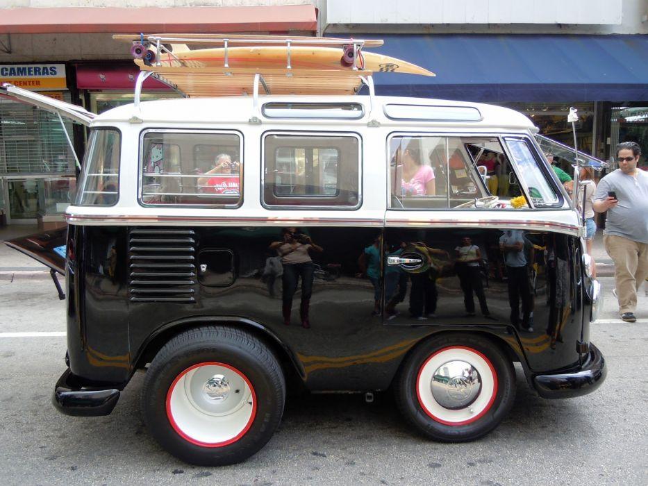 VOLKSWAGEN BUS van truck volkswagon custom tuning lowrider socal wallpaper