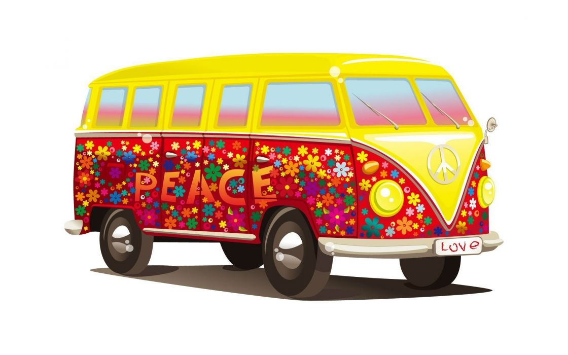 VOLKSWAGEN BUS van truck volkswagon wallpaper