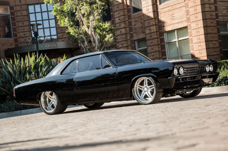 1967 Chevrolet Chevelle hot rod rods muscle custom classic wallpaper