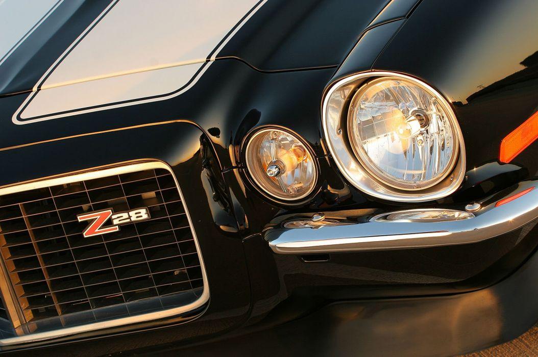 1971 Chevrolet Camaro muscle hot rod rods custom classic z28 f wallpaper