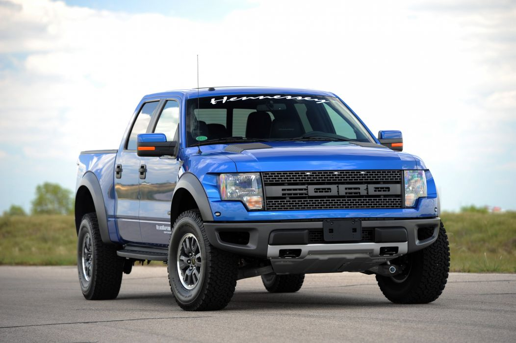 2010 Hennessey VelociRaptor 600 Twin Turbo 6-2L ford pickup muscle 4x4 wallpaper