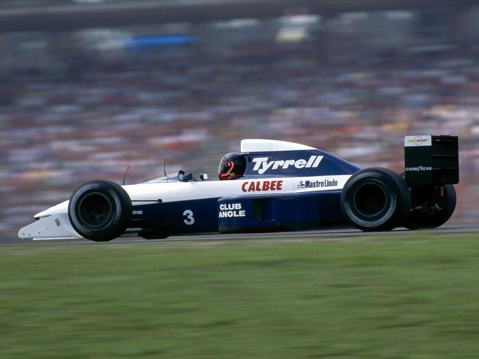 1992 Tyrrell 020B formula f-1 race racing wallpaper