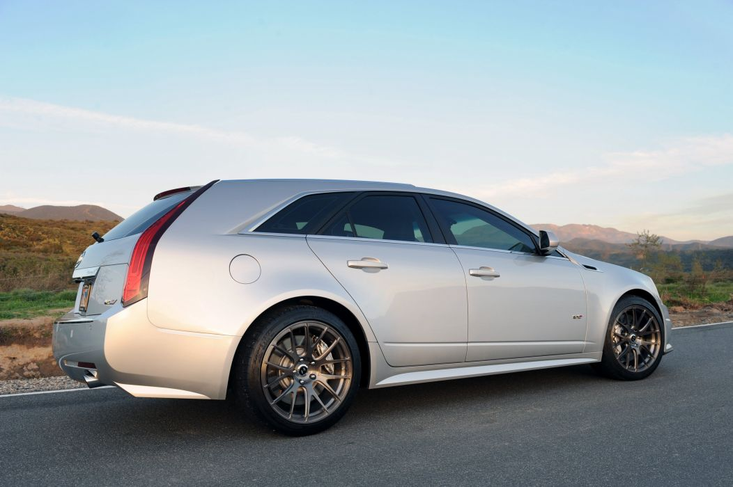 2012 Hennessey Cadillac CTS-V V650 Stationwagon muscle cts wallpaper